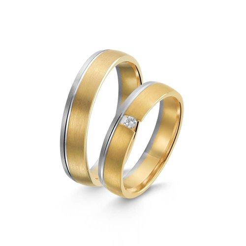 ItaloDesign Gouden trouwringen SI36