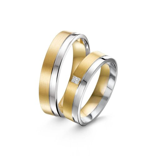 ItaloDesign Gouden trouwringen SI34