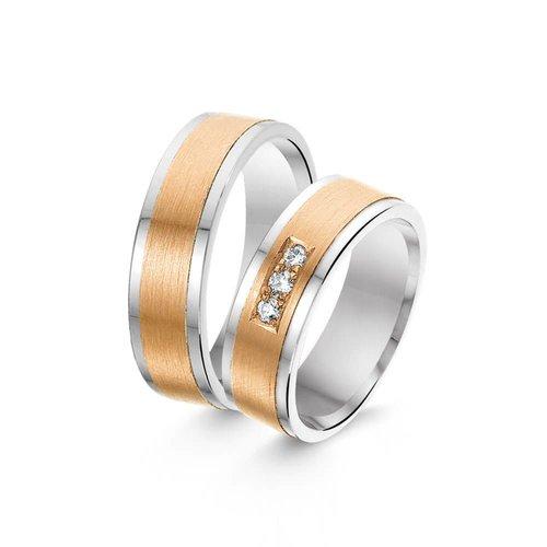 ItaloDesign Gouden trouwringen SI28