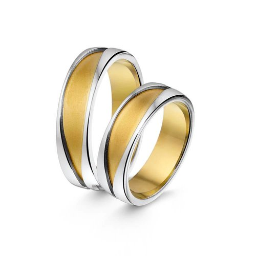 ItaloDesign Gouden trouwringen SI11