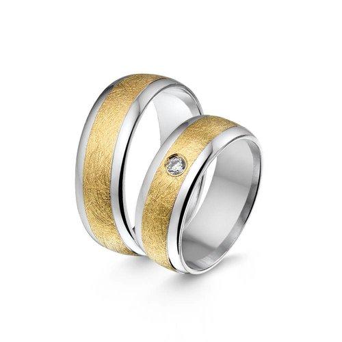 ItaloDesign Gouden trouwringen SI8