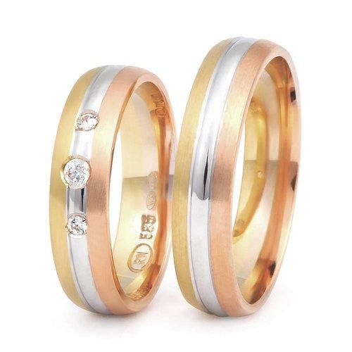 ItaloDesign Gouden trouwringen DM36