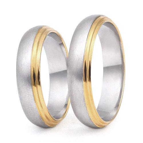 ItaloDesign Gouden trouwringen DM34