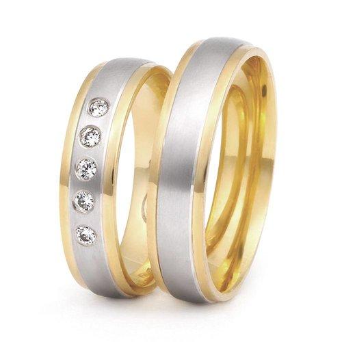 ItaloDesign Gouden trouwringen DM26