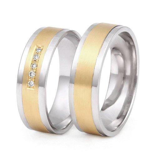 ItaloDesign Gouden trouwringen DM25