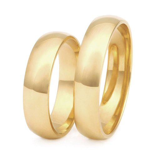 ItaloDesign Gouden trouwringen DM17