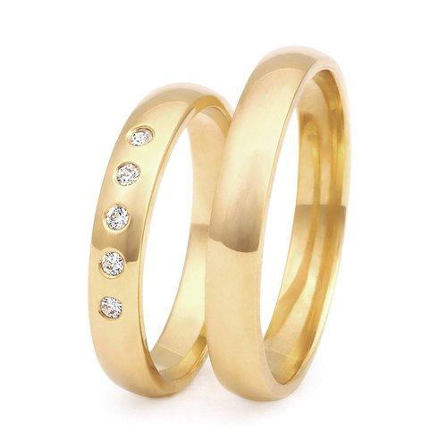 ItaloDesign Gouden trouwringen DM14