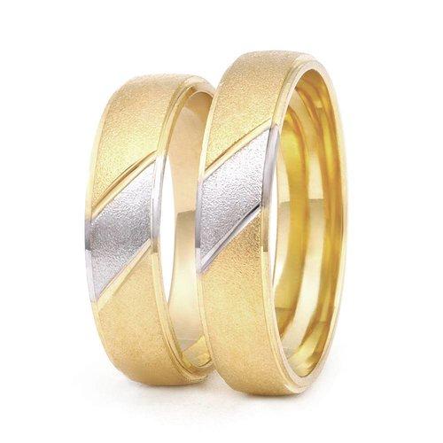 ItaloDesign Gouden trouwringen DM8