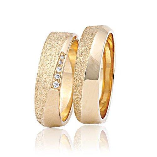 ItaloDesign Gouden trouwringen FAM18
