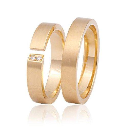 ItaloDesign Gouden trouwringen FAM8