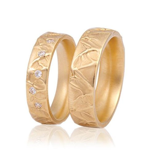 ItaloDesign Gouden trouwringen FAM5