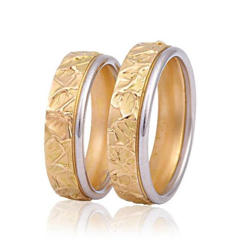 ItaloDesign Gouden trouwringen FAM4