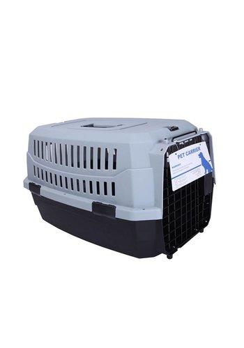 MPets MPets Boîte de transport pour chats de la route Gris moyen