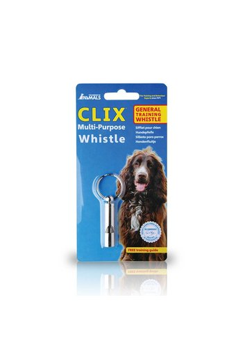 Clix trainen & africhten Hondenfluit multi-purpose whistle