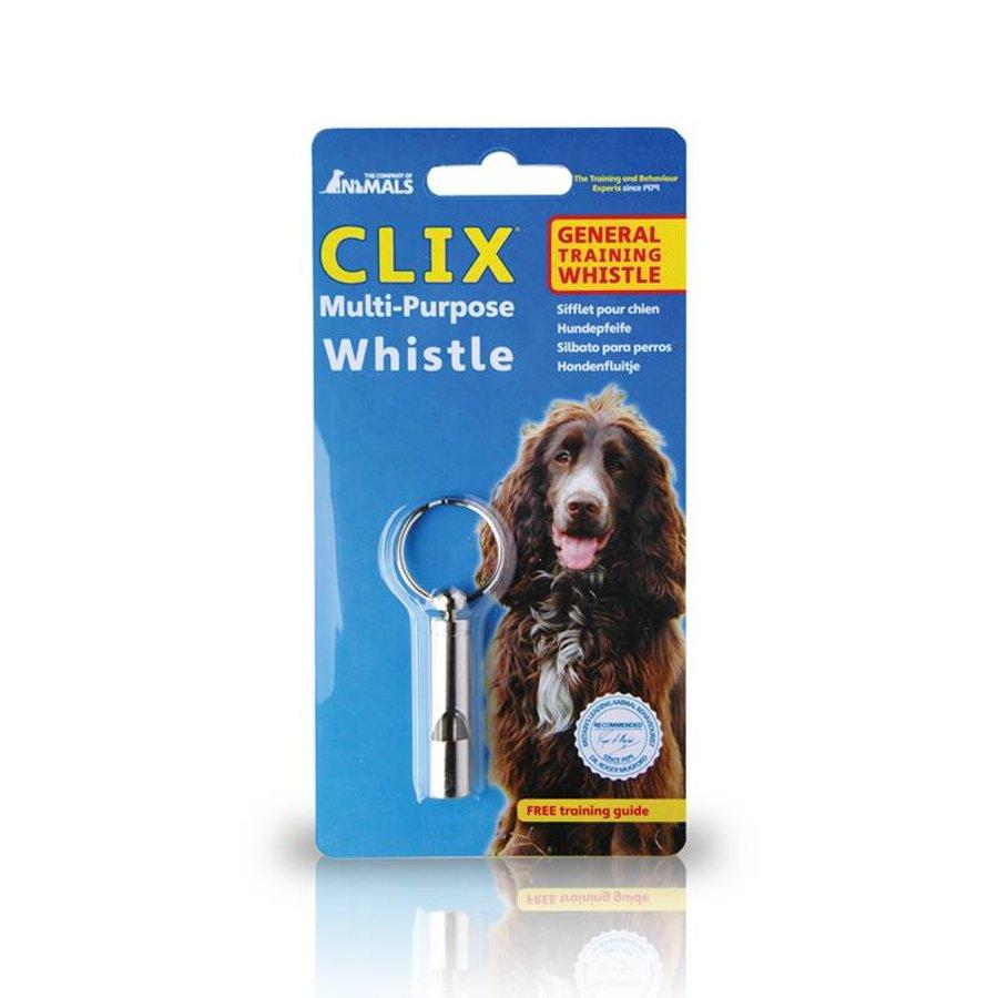 Clix Trainen & africhten Hondenfluit multi-purpose whistle