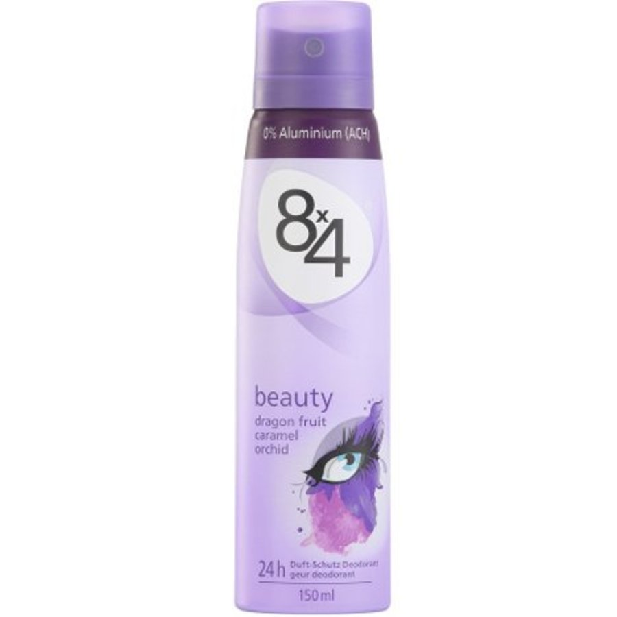 8x4 Deospray 150ml beauty