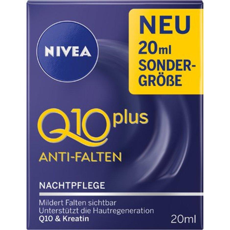 Nivea Visage Q10+ Anti rimpel nachtverzorging 20ml