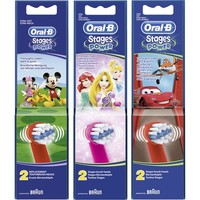 Oral B Opzetborstels stages power 2 stuks