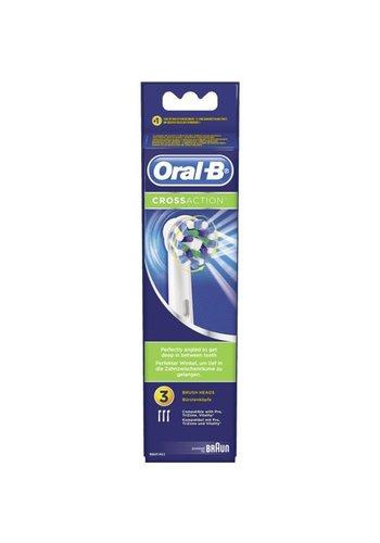 Oral B Opzetborstels cross action 3 stuks