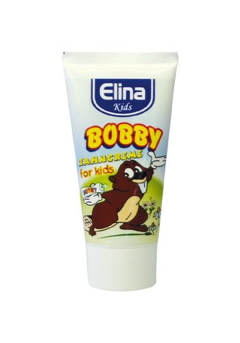 Elina Elina Dentifrice pour enfants 50ml bobby