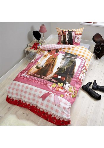 Dreamhouse Bedding Dekbedovertrek Mr. And Mrs. Horse