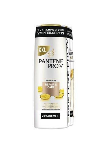 Pantene shampoo 2x500ml repair-care
