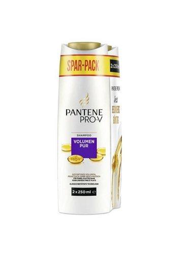 Pantene shampoo 2x250ml volumen pur