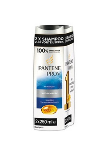 Pantene shampoo 2x250ml anti-roos