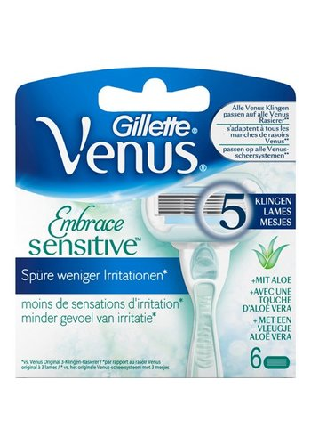 Gillette Gillette Women Venus Embrace Sensitive 6