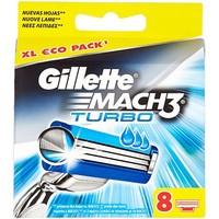 Gillette Mach 3 turbo - 8 stuks