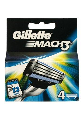 Gillette Mach3 4 stuks