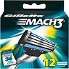 Gillette Gillette Mach 3 - 12 stuks