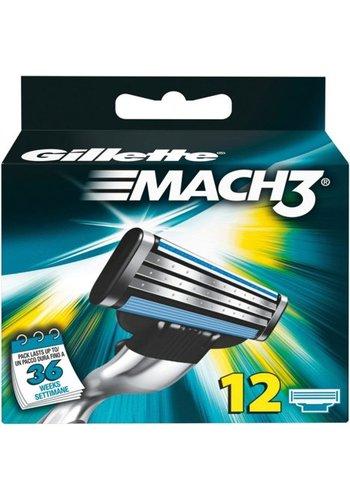 Gillette Mach3 12 stuks