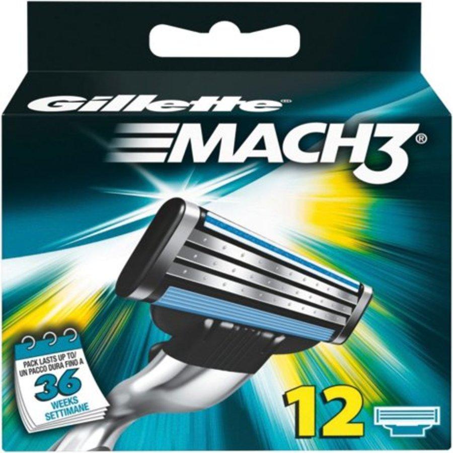 Gillette Mach 3 - 12 stuks