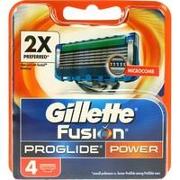 Gillette Fusion proglide power 4 stuks