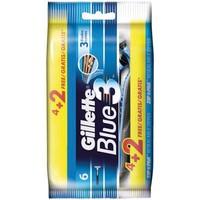 Gillette Blue 3 Einweg-Rasierklingen 4 + 2 frei