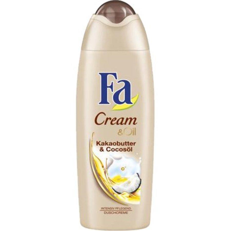 Fa Douche 250ml Cream&Oil Cacaoboter en kokosolie