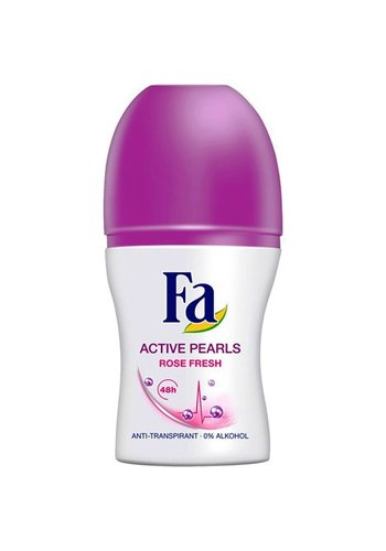 Fa Fa Deo roller 50ml active pearls rose fresh
