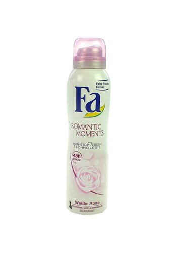 Fa Fa Deospray 150ml romantic moments
