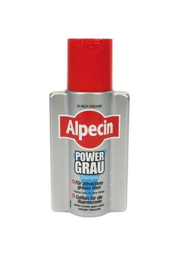 Alpecin Shampoo 200ml power grijs