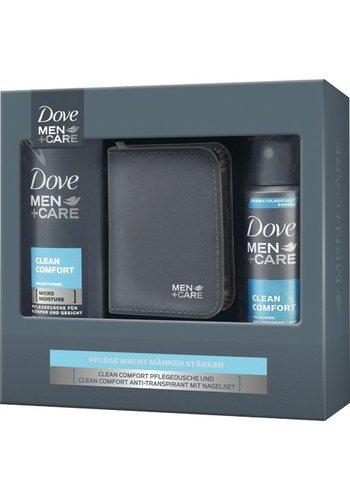 Dove Dove GP gel douche pour hommes  250ml + Deospray 150ml Clean
