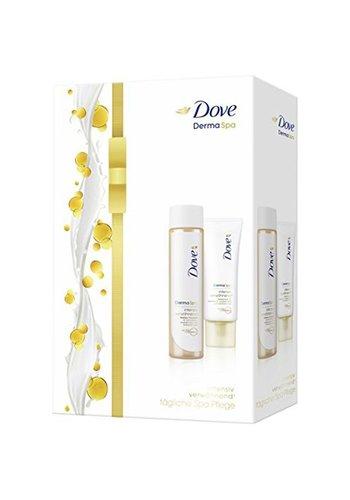Dove Dove GP Crème pour les mains  75ml + Olie 150ml Derma Spa