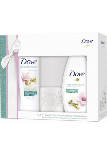 Dove Dove GP Douche 250ml +Lotion 400ml Pistache
