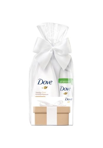 Dove Dove GP douche 250 ml + deospray 75 ml invisible dry