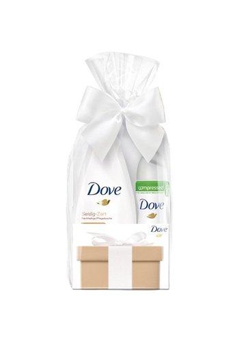 Dove Gp douche 250ml  deospray 75ml invisible dry