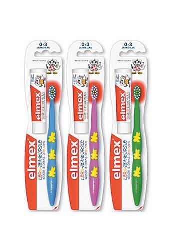 Elmex Kindertandenborstel  tandpasta