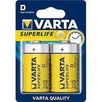 Varta Batterijen superlife mono 2stuks
