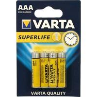Varta Batterijen Superlife Micro AAA - 4stuks