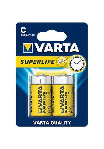 Varta Varta Batterijen Superlife Baby 2 stuks