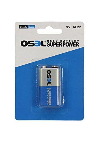 Osel Batteries POWER E-Block 1 pièce 9 volts par pak